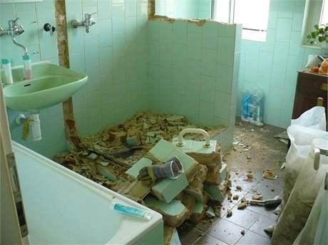 Totální rekonstrukce koupelny